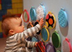 Create a sensory wall!