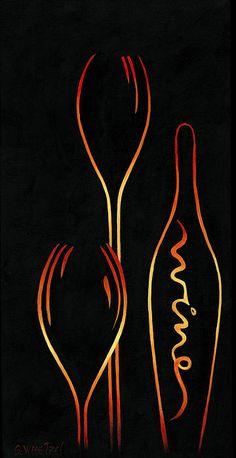 """Simply Wine!"" #elegant #wine #abstract #sensual #prints starting at $22"