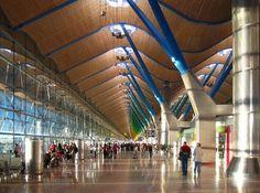 Madrid Barajas Airport T4 . Spain. UE