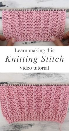 0 0 Knitting V Stitch – Learn how to work this lovely knitting V stitch for a sweater or cardigan by watching this tutorial! Keep reading for tips on how to make this beautiful knitting stitch. Easy Knitting Patterns, Free Knitting, Baby Knitting, Simple Knitting, Easy Patterns, Knitting Tutorials, Knitting Machine, Vintage Knitting, Knitting Projects