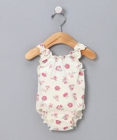 M.N. Bird & Co.-- Berry Tulip One-Piece Swimsuit - Infant & Toddler $22.99