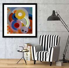 Discover «Circles», Exclusive Edition Fine Art Print by Angel Estevez - From $25…