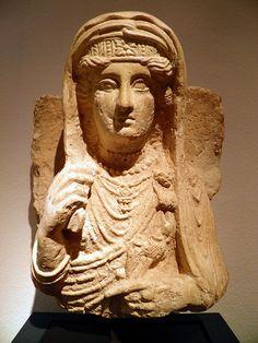 Palmyre - Buste de femme - Musée de Copenhague