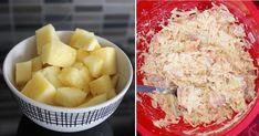 Svieži, zdravý a pripraviť ho môžete buď s majonézou, kedy je trochu ťažší, alebo bez majonézy, kedy je zase vhodný, ak držíte diétu. Spojenie zeleru a ananásu je kombinácia chutí, ktorá je trochu neobvyklá, no naozaj famózna. Budeme potrebovať: 150 gramov uvareného zeleru 30 gramov surového zeleru 50 gramov jabĺk 100 gramov ananásu 30 gramov Mashed Potatoes, Macaroni And Cheese, Dairy, Cookies, Ethnic Recipes, Food, Diet, Pineapple, Whipped Potatoes