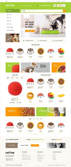 Fastor is a beautifully design responsive #Shopify Theme for stunning #pets #animals #shop eCommerce website with 50+ multipurpose homepage layouts download now➩ https://themeforest.net/item/fastor-multipurpose-responsive-shopify-theme/18389593?ref=Datasata