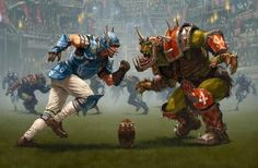 Buy Blood Bowl 2016 Games Workshop Fantasy Football in UK. Empire Game Store UK supplier of Wargames Ps4 Or Xbox One, Xbox 360, Playstation, Fantasy Football Rings, Riot Points, Digital Sculpting, Video Game News, Video Games, Blood Bowl