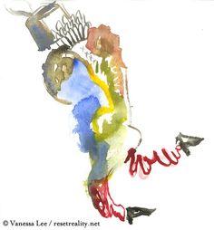 #Watercolor #art # resetreality