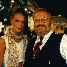 Gianfranco Ferré was an Italian fashion designer for Cristian Dior and Angelika Kallio the model.