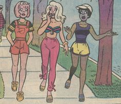 Sexy Ladies of Archie Comics Girl Cartoon, Cute Cartoon, Cartoon Art, Cute Comics, Comics Girls, Aesthetic Images, Retro Aesthetic, Josie And The Pussycats, Vintage Pop Art