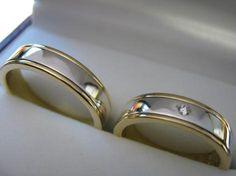 argollas plata y oro - Buscar con Google