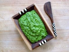 I have an announcement. I have decided that since it is so easy to whip up a fresh batch of pesto, there's really no need to buy pre-made. Basil Pesto, Salsa, Fresh, Classic, Ethnic Recipes, Dips, Dressing, Food, Derby