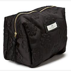 Buy Et DAY Birger et Mikkelsen Gweneth Sign Beauty Bag, Black from our Make-Up Bags range at John Lewis & Partners. Makeup Yourself, John Lewis, Diaper Bag, Branding, Zip, Stylish, Bags, Stuff To Buy, Beauty