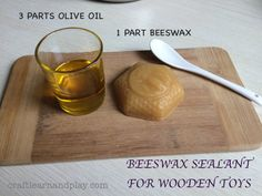 Beeswax And Olive Oil Ratio For Making Natural Wood Sealant