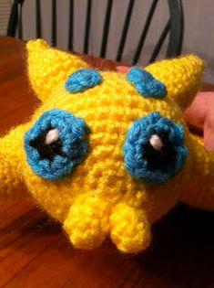 Heart in Flight Crochet: Joltik Crochet Pattern Pokemon Crochet Pattern, Crochet Patterns, Diy Crochet, Mistakes, Crafty, Heart, Kid Stuff, Witch, How To Make