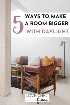 How to make your small room seem larger and more spacious by maximising the daylight in them. Ideas, tips and advice on creating a home that feels larger, have more ventilation and increased light. Home Decor Trends, Home Decor Inspiration, Diy Home Decor, Decor Ideas, Interior Design Issues, Country Bedroom Design, College Dorm Decorations, Design Blog, Design Ideas