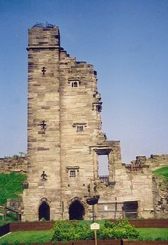 Tutbury Castle, Staffordshire - is a medieval castle and considered to be quite…