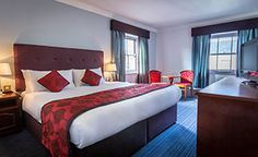 The Belvedere Hotel Dublin city offers spacious rooms from 1 - 5 guests sharing per room. Denmark Street, Dublin Hotels, Dublin City, Luxury, Bed, Rooms, Furniture, Home Decor, Bedrooms