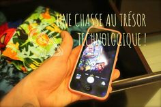"""Une chasse au trésor technologique <a class=""""pintag"""" href=""""/explore/diy/"""" title=""""#diy explore Pinterest"""">#diy</a>"""
