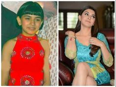 Child Bollywood Celebrities Then and Now