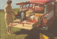 60 Best Camping 1950s Style images in 2019   1950s style, Camper