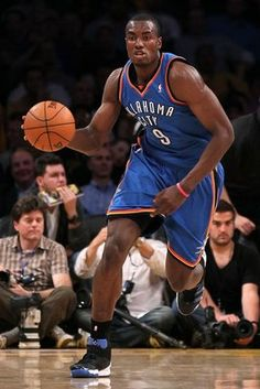 serge ibaka always gearing to win! Never stop improving his genre, working hard to be at His Best!
