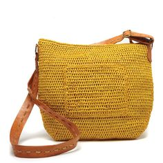 Sydney Crocheted Bag design by Mar Y Sol