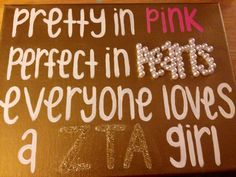 Pretty in pink, perfect in pearls, everyone loves a Phi Mu girl