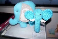 Elefant - sloník Dinosaur Stuffed Animal, Toys, Animals, Activity Toys, Animales, Animaux, Clearance Toys, Animal, Gaming