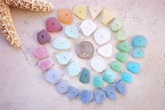 beach glass color wheel, sort of.