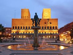 Oslo City Hall, from National Geographic Traveler