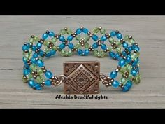 ▶ Crossing Paths Beaded Bracelet Tutorial - YouTube