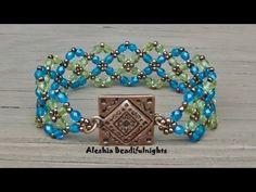 ▶ Crossing Paths Beaded Bracelet Tutorial - YouTube