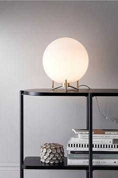 Bordlampe Brian Opal Dream Apartment, Opal, Table Lamp, Lighting, Glass, Interior, Home Decor, Shoppa, Yandex