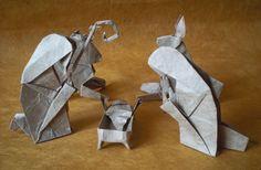 belen origami paso paso - Buscar con Google