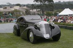 1925 Rolls Royce Phantom I, Jonckheere Aerodynamic coupe.  2005 Pebble Beach Concours d'élégance.
