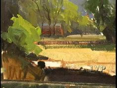 """""""Lazy Summer Day"""", a landscape painting in oils by Kathryn Stats - YouTube"""