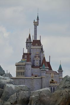 Beast's Castle @ the New Fantasyland Walt Disney World's Magic Kingdom