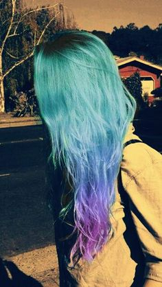 Colored Hair Style....