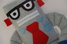 Nerd bot pillow
