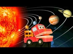 El Sistema Solar para Niños - Barney El Camion - Videos Educativos Infantiles - YouTube Spanish Songs, Spanish Language, Kids Videos, Solar System, Science And Technology, Make It Yourself, Youtube, Class Room, Dragon