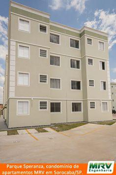 Paisagismo do Speranza. Condomínio fechado de apartamentos localizado em Sorocaba / SP.