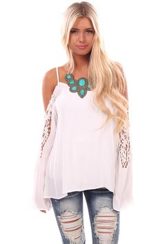 Lime Lush Boutique - Ivory Off Shoulder Long Sleeve Top with Sleeve Patch Detail, $38.99 (http://www.limelush.com/ivory-off-shoulder-long-sleeve-top-with-sleeve-patch-detail/)