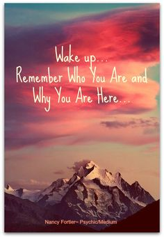 Wake up and remember who you are! If you need help or have life questions please come and see me!!!!! www.psychicmediumjessica.com     Power of 3 on Facebook