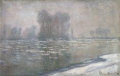 Claude MONET | Morning haze [Matin brumeux, débâcle]