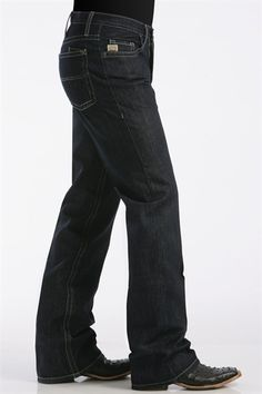 Goodsociety Mens Organic Premium Denim Relaxed Mens Jeans in Raw