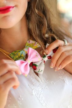 Necklace Bow Tie