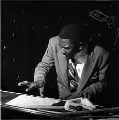 Soul jazz and organ pioneer Jimmy Smith was a 1956 Blue Note discovery. Here he is in action that year at a Philadelphia jazz club.