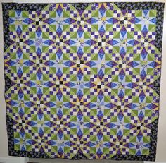 Our Iron Quilter Winner. This is stunning! 1st Place – Sharon Clontz