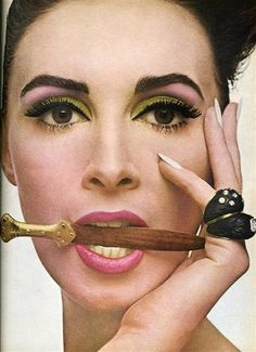 1970'sz makeup trends | Dutch beauty Wilhelmina Cooper was a top model in the 50s and early ...