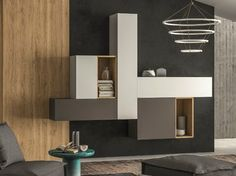 Sectional storage wall SLIM 108 - Dall'Agnese